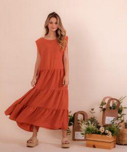 Vestido tecido Camila Ref.: 78676