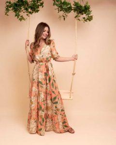 Vestido viscose Milla 79726