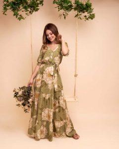 Vestido viscose Milla 78726